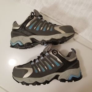 5e9b1eb9105fd Hytest Women's Steel Toe Work Athletic Shoes 5W